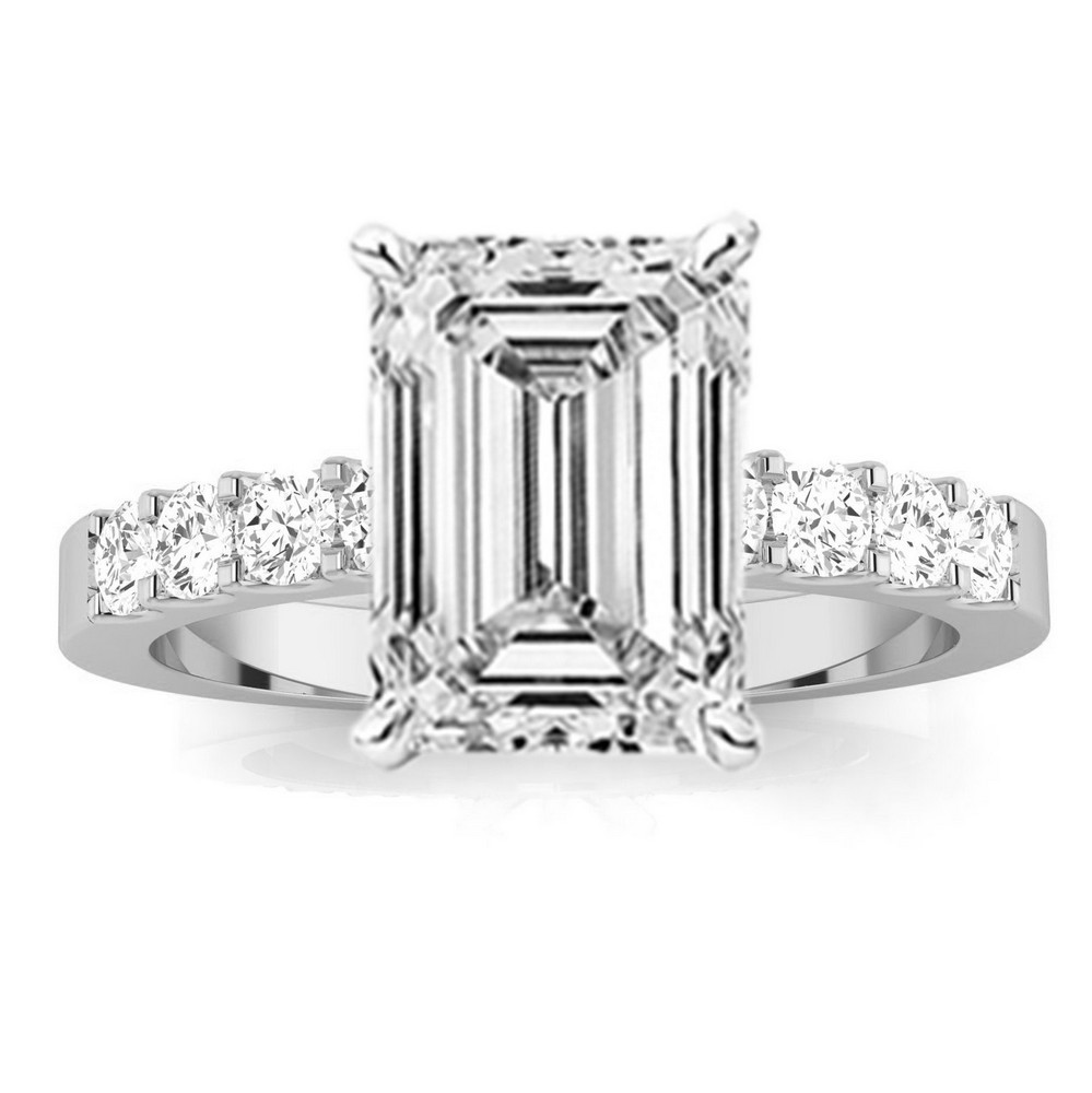 EGL Certified 1.6 Carat Emerald Cut Classic Diamond ...